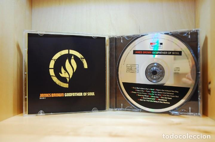 CDs de Música: JAMES BROWN - GODFATHER OF SOUL - CD - - Foto 3 - 237011700