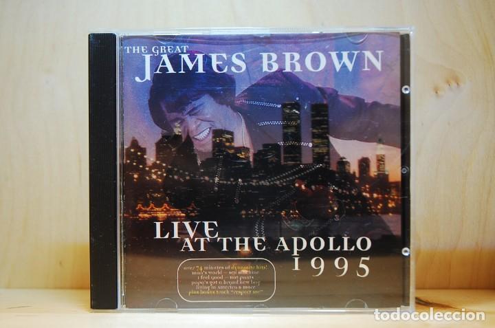 JAMES BROWN - LIVE AT THE APOLLO 1995 - CD - (Música - CD's Jazz, Blues, Soul y Gospel)