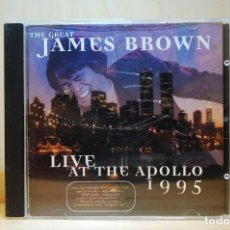 CDs de Música: JAMES BROWN - LIVE AT THE APOLLO 1995 - CD -. Lote 237011775