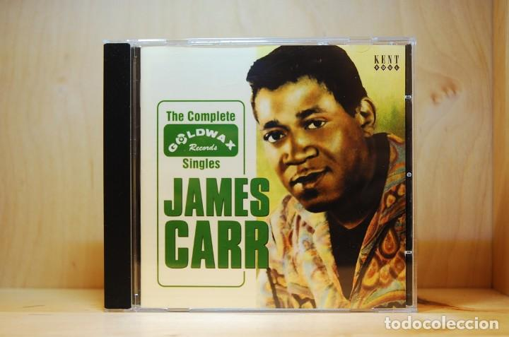 JAMES CARR - THE COMPLETE GOLDWAX SINGLES - CD - (Música - CD's Jazz, Blues, Soul y Gospel)
