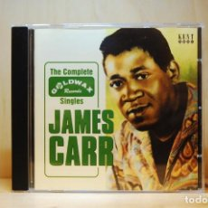 CDs de Música: JAMES CARR - THE COMPLETE GOLDWAX SINGLES - CD -. Lote 237011830
