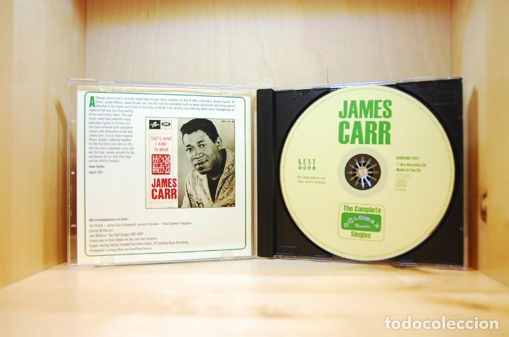 CDs de Música: JAMES CARR - The complete Goldwax singles - CD - - Foto 3 - 237011830