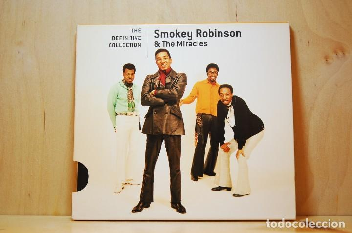 SMOKEY ROBINSON & THE MIRACLES - THE DEFINITIVE COLLECTION - CD - (Música - CD's Jazz, Blues, Soul y Gospel)