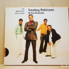 CDs de Música: SMOKEY ROBINSON & THE MIRACLES - THE DEFINITIVE COLLECTION - CD -. Lote 237011945