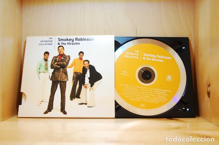 CDs de Música: SMOKEY ROBINSON & THE MIRACLES - THE DEFINITIVE COLLECTION - CD - - Foto 2 - 237011945