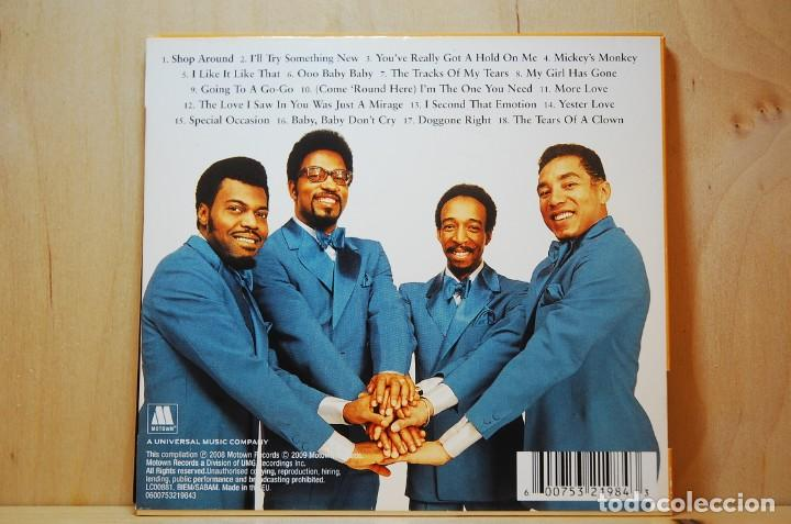 CDs de Música: SMOKEY ROBINSON & THE MIRACLES - THE DEFINITIVE COLLECTION - CD - - Foto 3 - 237011945