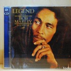 CDs de Música: BOB MARLEY & THE WAILERS - LEGEND. THE BEST OF (DOBLE CD) -. Lote 237012060