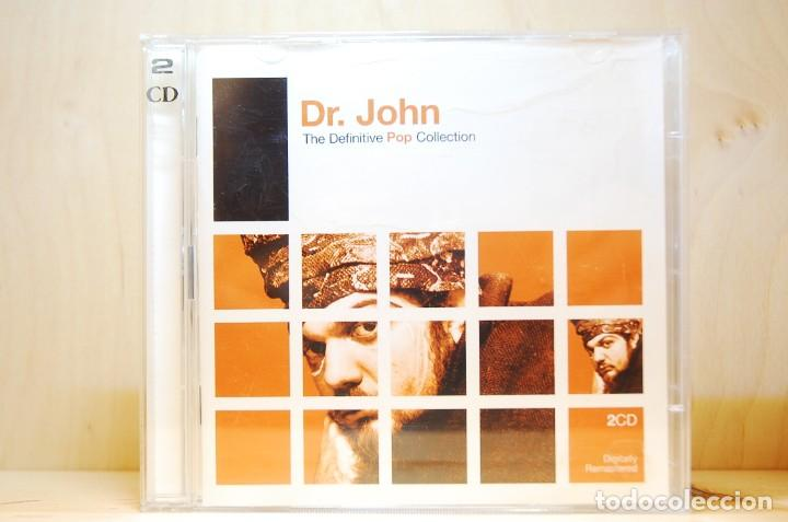DR. JOHN - THE DEFINITIVE POP COLLECTION - CD - (Música - CD's Pop)