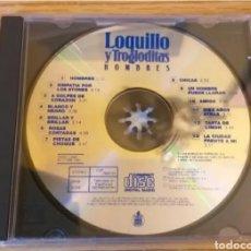 CDs de Música: LOQUILLO Y TROGLODITAS CD HOMBRES HISPAVOX 1991 FALTA CARATULA FRONTAL DISCO BIEN + 5 € ENVIO C.N. Lote 237026680