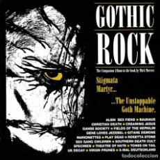 CDs de Música: GOTHIC ROCK - STIGMATA MARTYR. BAUHAUS, DANSE SOCIETY, PLAY DEAD... CD. Lote 237027085
