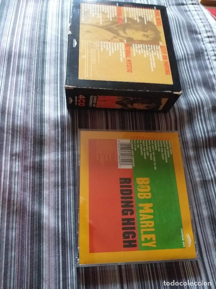 CDs de Música: 4 CDS BOB MARLEY EN CAJA LIVELY UP YOURSELF, SOUL REBEL, NATURAL MISTYC RIDING HIGH - Foto 4 - 237036060