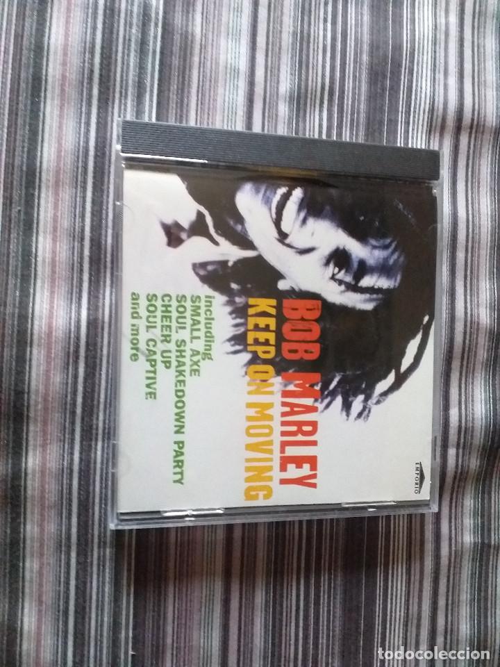 CDs de Música: 4 CDS BOB MARLEY EN CAJA LIVELY UP YOURSELF, SOUL REBEL, NATURAL MISTYC RIDING HIGH - Foto 5 - 237036060