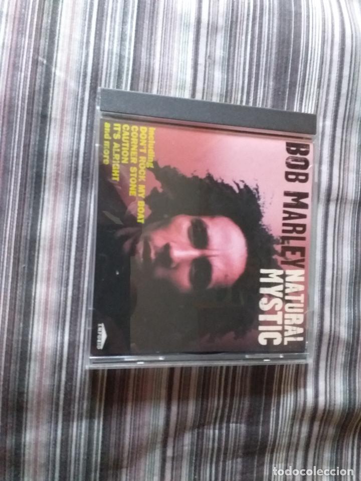 CDs de Música: 4 CDS BOB MARLEY EN CAJA LIVELY UP YOURSELF, SOUL REBEL, NATURAL MISTYC RIDING HIGH - Foto 8 - 237036060