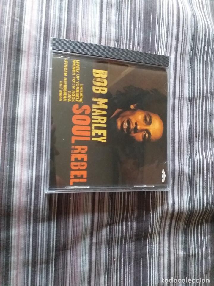 CDs de Música: 4 CDS BOB MARLEY EN CAJA LIVELY UP YOURSELF, SOUL REBEL, NATURAL MISTYC RIDING HIGH - Foto 11 - 237036060