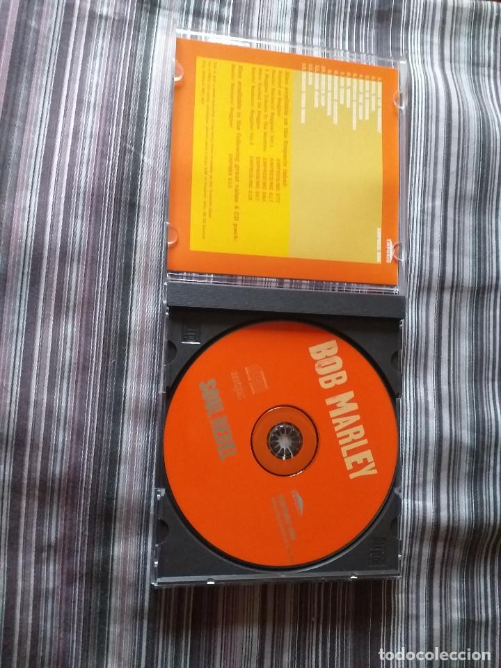 CDs de Música: 4 CDS BOB MARLEY EN CAJA LIVELY UP YOURSELF, SOUL REBEL, NATURAL MISTYC RIDING HIGH - Foto 12 - 237036060