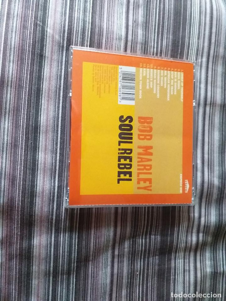 CDs de Música: 4 CDS BOB MARLEY EN CAJA LIVELY UP YOURSELF, SOUL REBEL, NATURAL MISTYC RIDING HIGH - Foto 13 - 237036060
