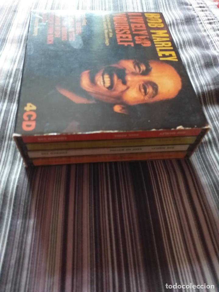 CDs de Música: 4 CDS BOB MARLEY EN CAJA LIVELY UP YOURSELF, SOUL REBEL, NATURAL MISTYC RIDING HIGH - Foto 14 - 237036060
