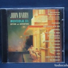 CDs de Música: JOHN BARRY - MOVIOLA II - ACTION AND AVENTURE - CD. Lote 237140860