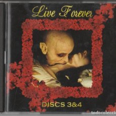 CDs de Música: CD RECOPILATORIO LIVE FOREVER - 10 CD-S EN TOTAL - THE MOST BEAUTIFUL & HAUNTING GOTHIC COLLECTION. Lote 237204350