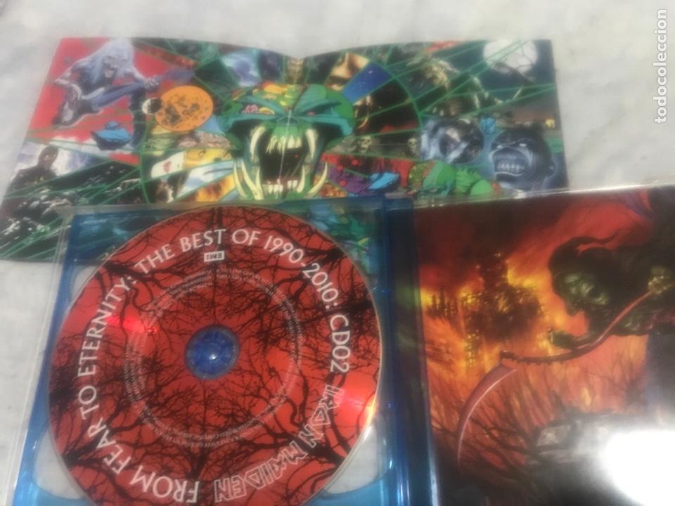 CDs de Música: Iron maiden . From. Fear to eternity 1990/2010 - Foto 3 - 237289930