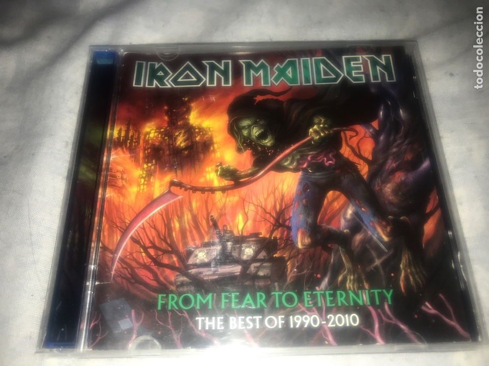 IRON MAIDEN . FROM. FEAR TO ETERNITY 1990/2010 (Música - CD's Heavy Metal)