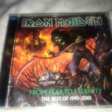CDs de Música: IRON MAIDEN . FROM. FEAR TO ETERNITY 1990/2010. Lote 237289930