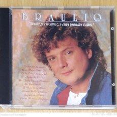 CDs de Música: BRAULIO (CORTAR POR LO SANO Y OTROS GRANDES EXITOS!) CD 1989 USA. Lote 237306175