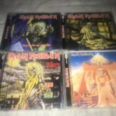 CDs de Música: IRON MAIDEN . 4 CDS . LOTE. Lote 237308045