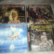 CDs de Música: IRON MAIDEN CUATRO CDS LOTE. Lote 237308535