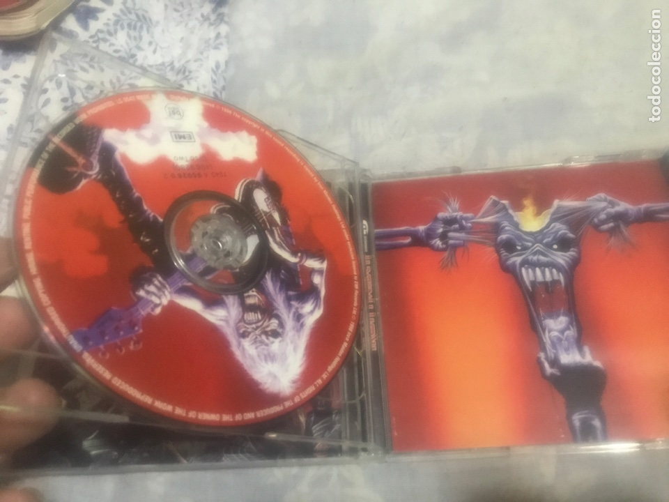 CDs de Música: Iron Maiden Lote tres CDs - Foto 3 - 237309260