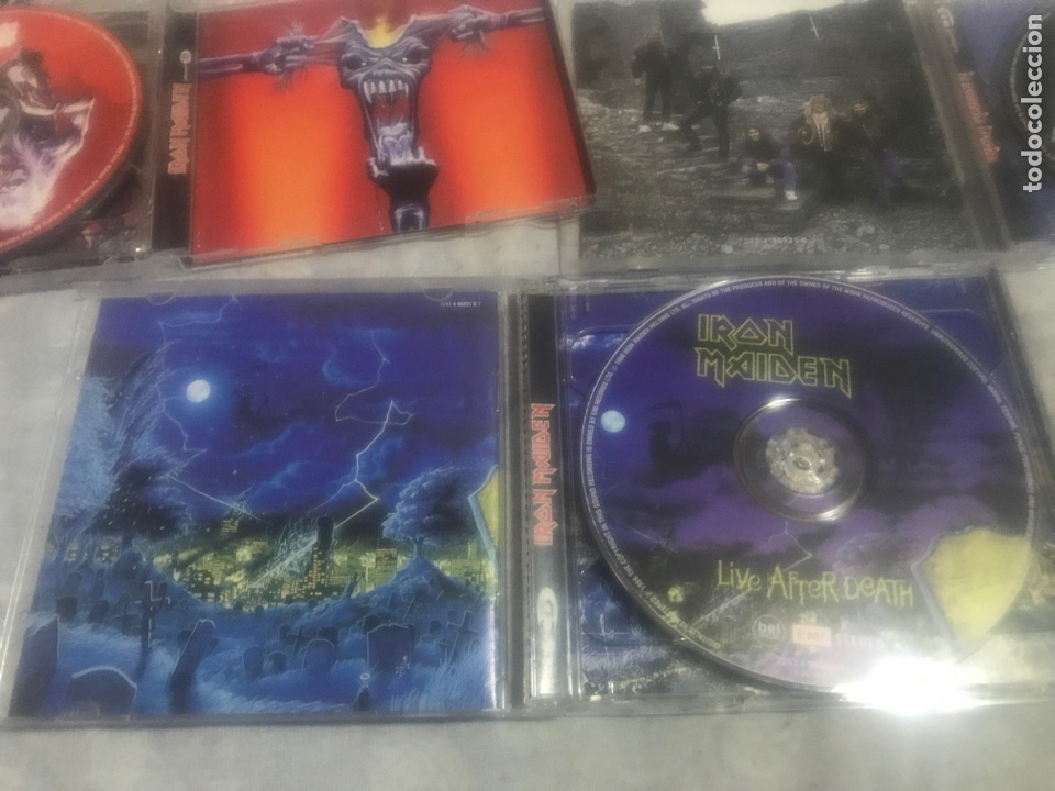 CDs de Música: Iron Maiden Lote tres CDs - Foto 5 - 237309260