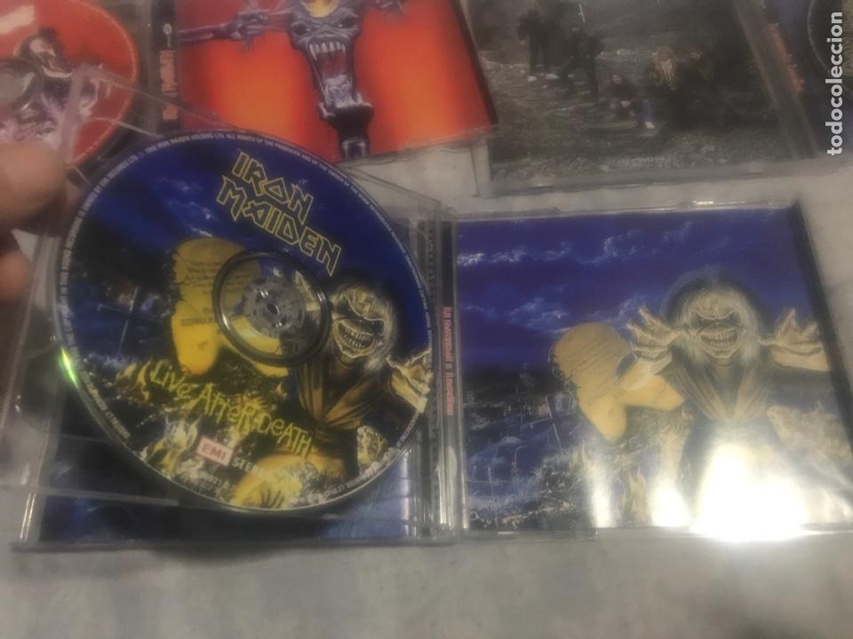 CDs de Música: Iron Maiden Lote tres CDs - Foto 6 - 237309260