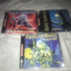 CDs de Música: IRON MAIDEN LOTE TRES CDS. Lote 237309260