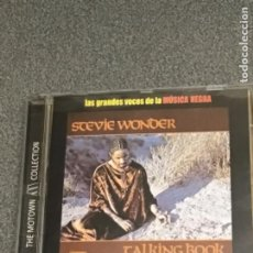 CDs de Música: STEVIE WONDER. TALKING BOOK. COLECCIÓN LAS GRANDES VICES DE LA MÚSICA NEGRA. Lote 237337545