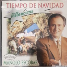 CDs de Música: MANOLO ESCOBAR TIEMPO DE NAVIDAD. Lote 237363765