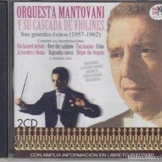 CDs de Música: ORQUESTA MANTOVANI Y SU CASCADA DE VIOLINES DOBLE CD SUS GRANDES ÉXITOS 1957-1962 RAMA-LAMA. Lote 237371945