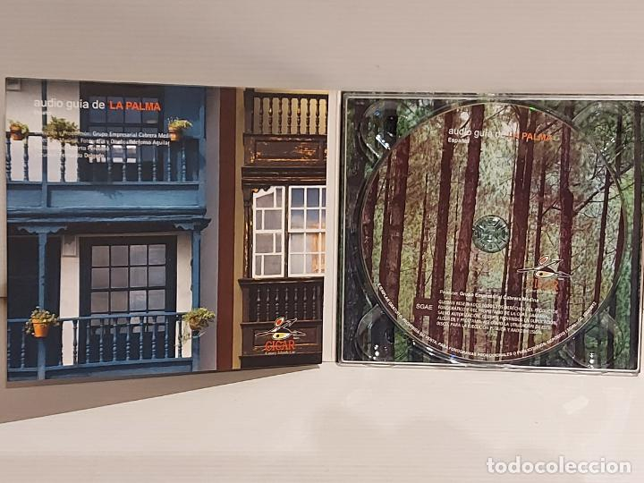 CDs de Música: AUDIO GUÍA DE LA PALMA ( ESPAÑOL ) DIGIPACK CD EDITADO POR CICAR / 35 TRACKS / BUENA CALIDAD. - Foto 2 - 237372010
