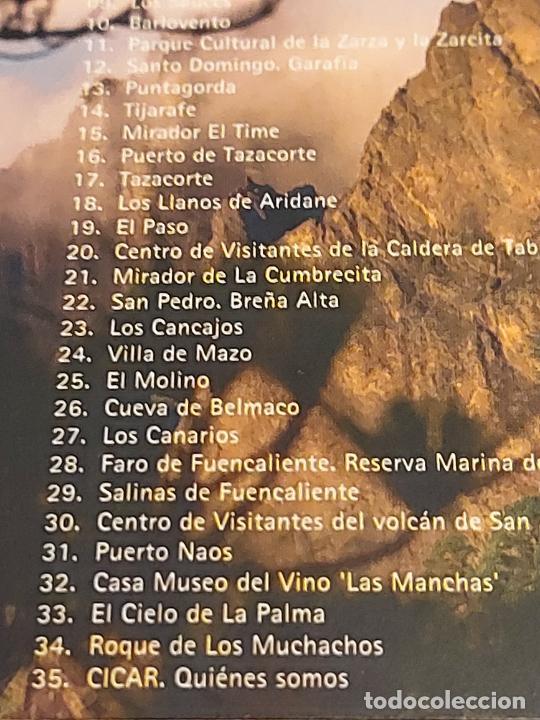 CDs de Música: AUDIO GUÍA DE LA PALMA ( ESPAÑOL ) DIGIPACK CD EDITADO POR CICAR / 35 TRACKS / BUENA CALIDAD. - Foto 4 - 237372010