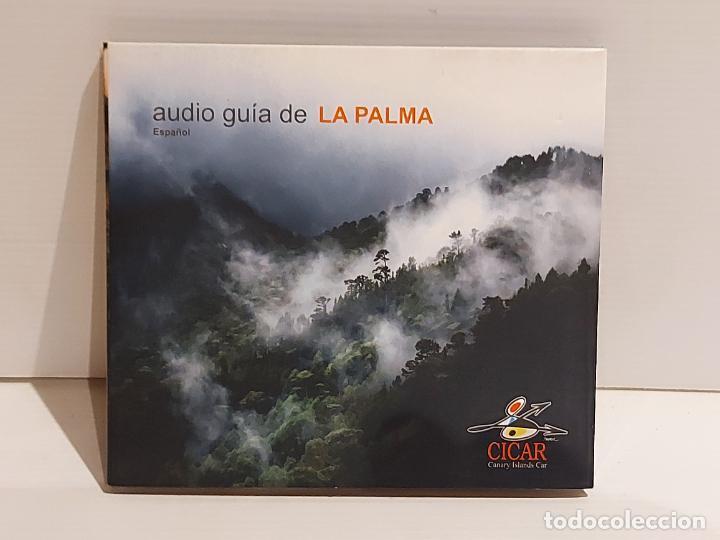AUDIO GUÍA DE LA PALMA ( ESPAÑOL ) DIGIPACK CD EDITADO POR CICAR / 35 TRACKS / BUENA CALIDAD. (Música - CD's Otros Estilos)