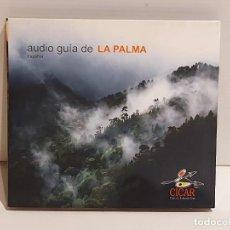 CDs de Música: AUDIO GUÍA DE LA PALMA ( ESPAÑOL ) DIGIPACK CD EDITADO POR CICAR / 35 TRACKS / BUENA CALIDAD.. Lote 237372010
