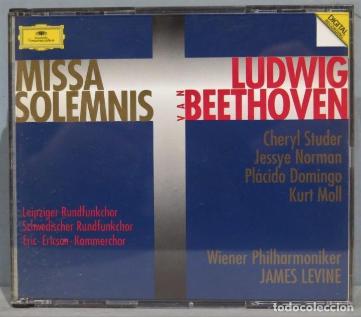 CD. MISSA SOLEMNIS. BEETHOVEN (Música - CD's Clásica, Ópera, Zarzuela y Marchas)