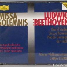 CDs de Música: CD. MISSA SOLEMNIS. BEETHOVEN. Lote 237387385