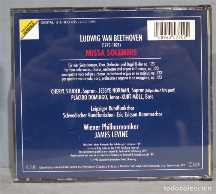 CDs de Música: CD. MISSA SOLEMNIS. BEETHOVEN - Foto 2 - 237387385