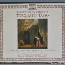 CDs de Música: CD. DONIZETTI. TORQUATO TASSO. Lote 237387490