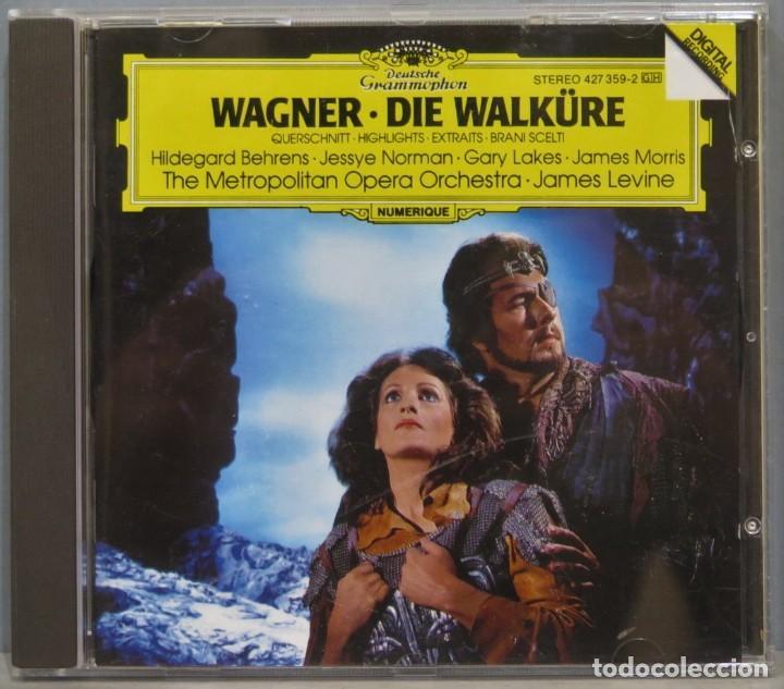 CD. WAGNER. DIE WALKÜRE (Música - CD's Clásica, Ópera, Zarzuela y Marchas)