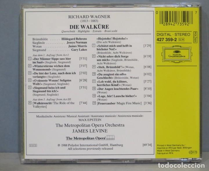 CDs de Música: CD. WAGNER. DIE WALKÜRE - Foto 2 - 237388560