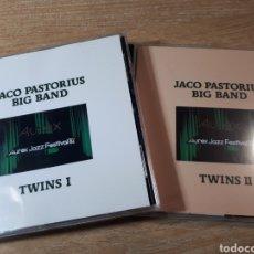 CDs de Música: JACO PASTORIUS BIG BAND TWINS 1 Y 2 DOS CDS. Lote 237406640