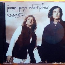 CDs de Música: JIMMY PAGE & ROBERT PLANT UNLEDDED: NO QUARTER - CD - PHONOGRAM / FONTANA (UK) - 1994 - PRECINTADO. Lote 237411375