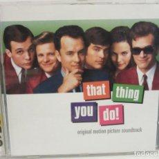 CDs de Música: THAT THING YOU DO! - BSO - CD - 1996 - EUROPE - EX+/EX+. Lote 237412090