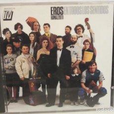 CDs de Música: EROS RAMAZZOTTI - EN TODOS LOS SENTIDOS - CD - 1990 - SPAIN - EX+/EX+. Lote 237412355